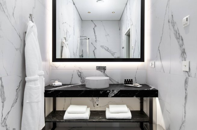 Hotel PACAI, hotel, design, bathroom