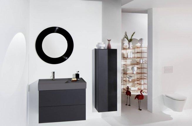 Keramikfarben, schwarz matt, graphit matt, schwarz, grau, weiß